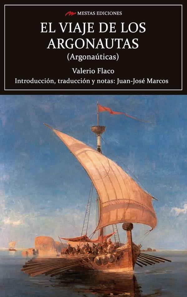 C108- Viaje de los Argonautas Valerio Flaco 978-84-17782-14-6 Mestas Ediciones