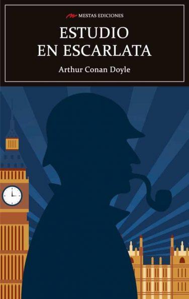 C125- Estudio en escarlata Conan Doyle 978-84-17782-84-9 Mestas Ediciones