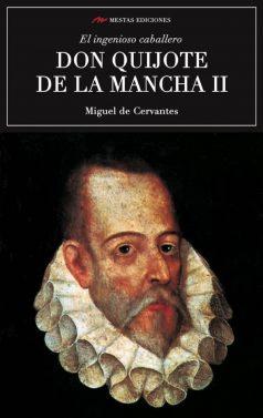 C18- Don Quijote de la Mancha 2 Miguel de Cervantes 978-84-16775-08-8 mestas ediciones