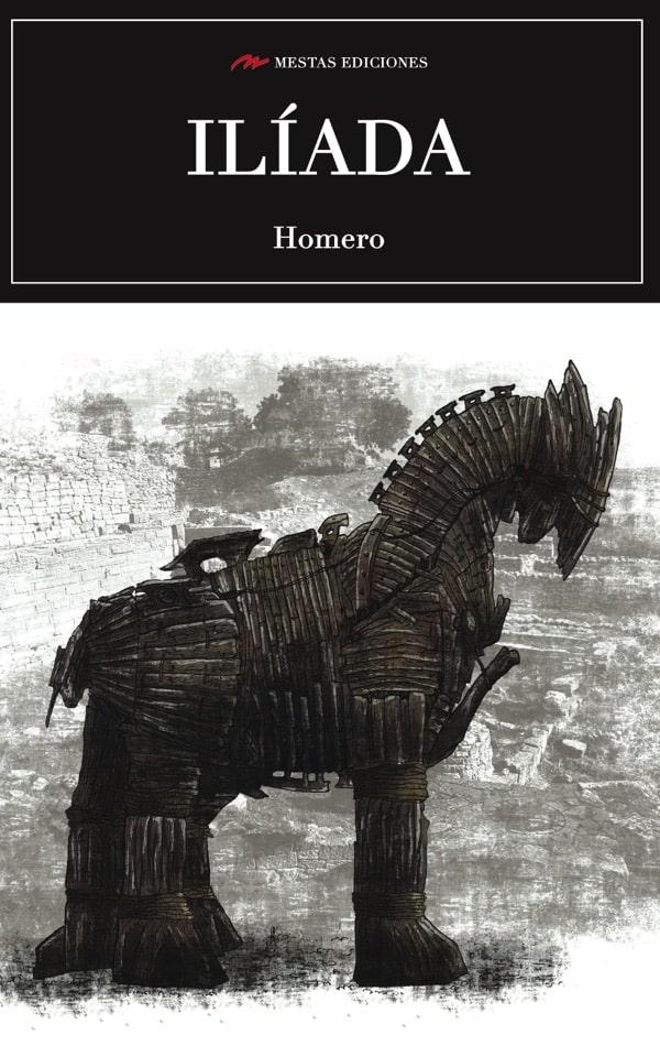 C25- Iliada Homero 978-84-16775-44-6 mestas ediciones