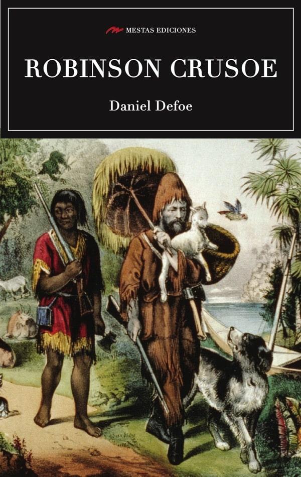 C69- Robinson Crusoe Daniel Defoe 978-84-16365-20-3 Mestas Ediciones
