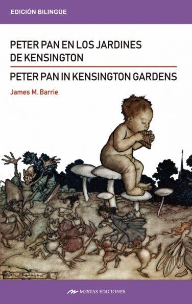 CB3- Peter Pan in kensington garden _ Peter Pan en los jardines de kensington Bilingüe 978-84-17782-02-3 Mestas Ediciones