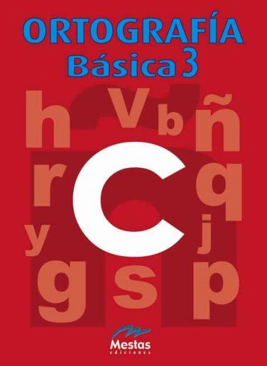 OB3- Ortografía 3 978-84-95311-60-3 Mestas Ediciones