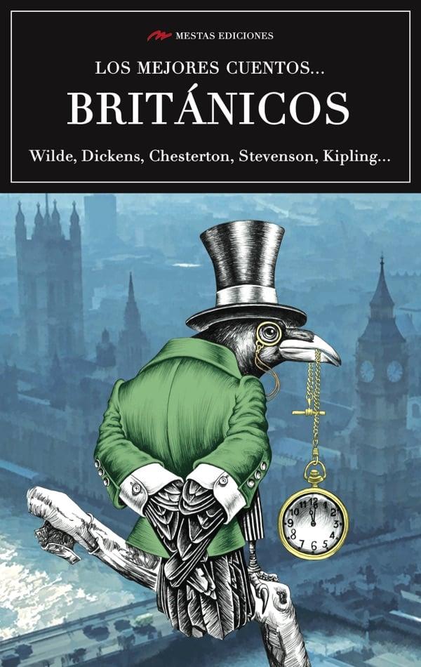 VE1- Los mejores cuentos británicos Oscar Wilde Daniel Defoe Stevenson Collins Stoker Hardy 978-84-16775-50-7 Mestas Ediciones